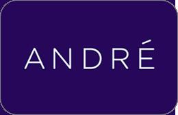 Cartes cadeaux Andre en réduction
