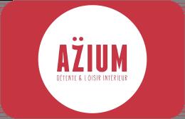 Cartes cadeaux Azium en réduction