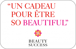 Cartes cadeaux Beauty Success en réduction