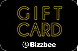 Cartes cadeaux Bizzbee en réduction