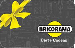 Cartes cadeaux Bricorama en réduction