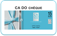 CA DO CHEQUE - hors alimentation