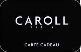 Cartes cadeaux Caroll en réduction