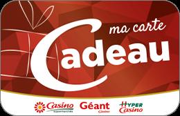 Cartes cadeaux Casino en réduction
