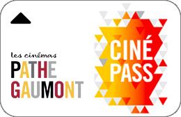 Cartes cadeaux Pathé Gaumont Ciné Pass -26 ans en réduction