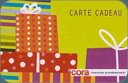Cartes cadeaux Cora en réduction