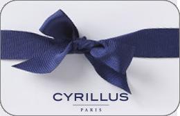 Cartes cadeaux Cyrillus en réduction
