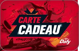 Cartes cadeaux Dafy Moto en réduction