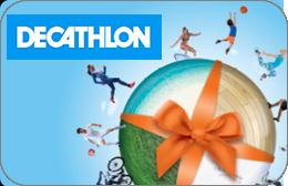 Cartes cadeaux Decathlon en réduction