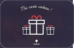 Cartes cadeaux Faguo en réduction