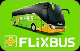 Cartes cadeaux Flixbus en réduction