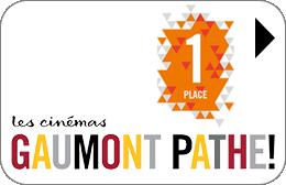Cartes cadeaux Gaumont Pathé (Réduit) en réduction