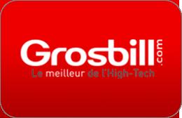 Cartes cadeaux Grosbill.com en réduction