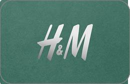 Cartes cadeaux H&M en réduction