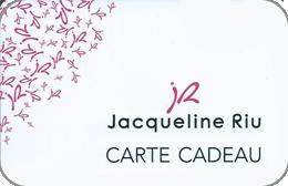 Cartes cadeaux Jacqueline Riu en réduction