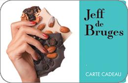 Cartes cadeaux Jeff de Bruges en réduction