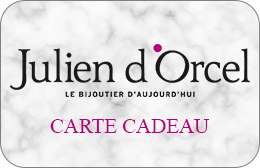 Cartes cadeaux Julien d'Orcel en réduction