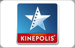 Cartes cadeaux Kinepolis en réduction