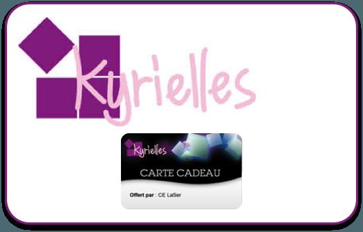 Kyrielles - Carte cadeau