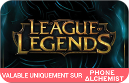 Cartes cadeaux League Of Legends en réduction