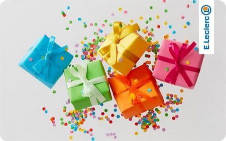 Cartes cadeaux E.Leclerc en réduction