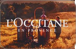 Cartes cadeaux L'occitane en réduction