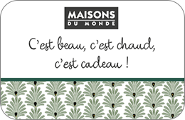 maisons du monde carte cadeau ventana blog. Black Bedroom Furniture Sets. Home Design Ideas