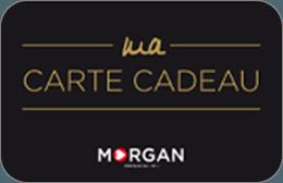 Cartes cadeaux Morgan en réduction