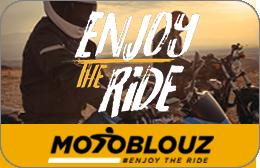 Cartes cadeaux Motoblouz en réduction