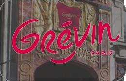 Cartes cadeaux Musée Grévin en réduction