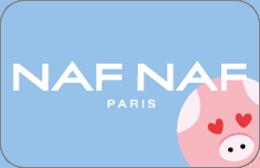 Cartes cadeaux Naf Naf en réduction