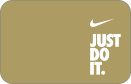 Cartes cadeaux Nike en réduction