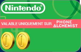 Cartes cadeaux Nintendo en réduction