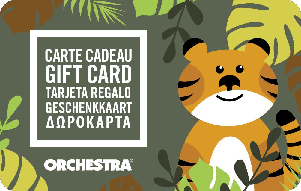 carte cadeau orchestra
