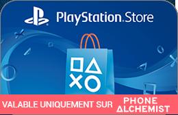 Cartes cadeaux PlayStation en réduction