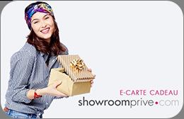 Cartes cadeaux Showroomprivé en réduction