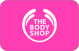 Cartes cadeaux The Body Shop en réduction
