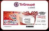 Chèques cadeaux TirGroupe-Liberte Hors alimentation en réduction