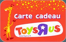 Cartes cadeaux Toys'R'us en réduction