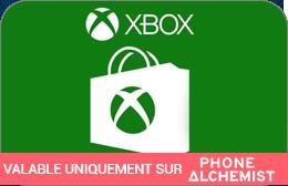 Cartes cadeaux Xbox en réduction