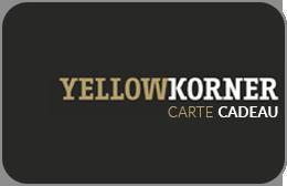 Cartes cadeaux YellowKorner en réduction