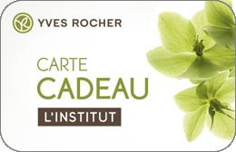 Cartes cadeaux Yves Rocher Institut en réduction
