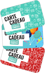 Carte Cadeau Place des Cartes
