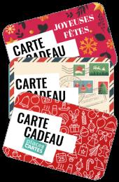 Carte Cadeau Place des Cartes