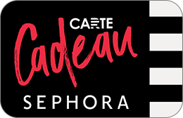 Cartes cadeaux Sephora en réduction