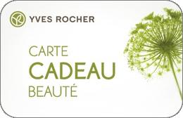 Cartes cadeaux Yves Rocher en réduction